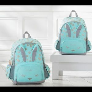 Pottery Barn Mackenzie Glitter Bunny Backpack